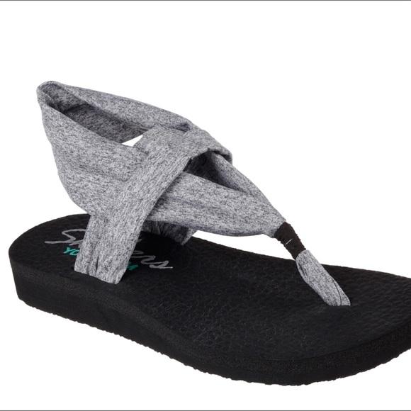 71d187ebbdd1 Skechers Yoga Mat Flip Flop. M 5a6f3947a825a6a5e27d159d